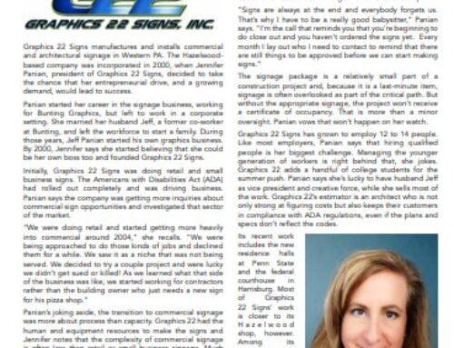 Graphics 22 WBE Company Spotlight